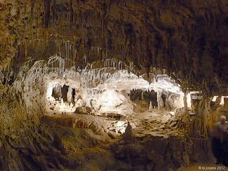 Caves of Choranche - click thumbnail to enlarge