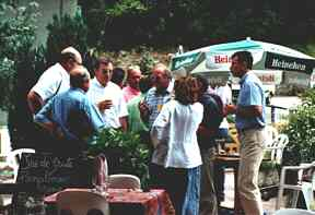 Hotel restaurant le Jorjane - greeting of groups near Pont-en-Royans